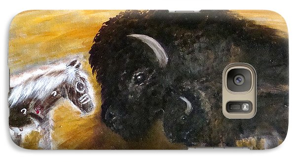 Galaxy Case featuring the painting Of Proud Heritage by Barbie Batson