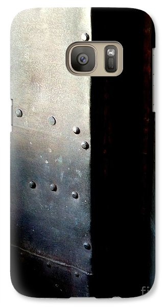Galaxy Case featuring the photograph Of Shadow And Intent by Newel Hunter