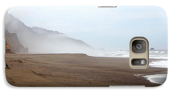 Galaxy Case featuring the photograph Of Solitude And Sand by Thomas Bomstad