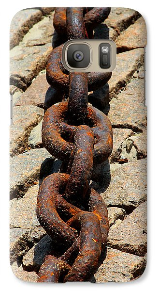 Galaxy Case featuring the photograph Of Steel And Granite by John Freidenberg