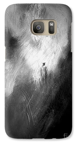Galaxy Case featuring the painting Off He Goes by Christine Ricker Brandt