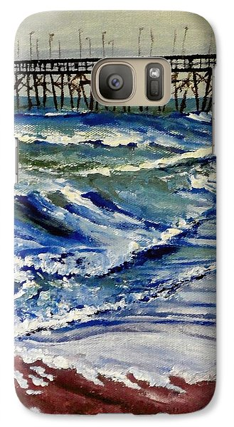 Galaxy Case featuring the painting Off Season At Northtopsail by Jim Phillips