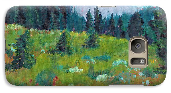 Galaxy Case featuring the painting Off The Trail by C Sitton