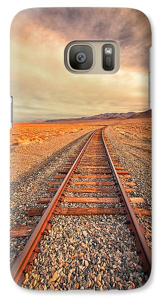 Galaxy Case featuring the photograph Off To Nowhere by Janis Knight