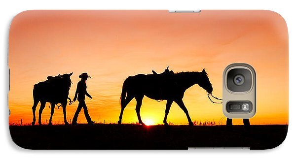 Off To The Barn Galaxy S7 Case by Todd Klassy