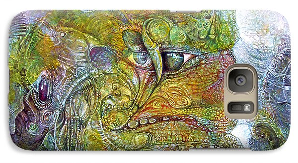 Galaxy Case featuring the painting Offspring Of Tiamat - The Fomorii Union by Otto Rapp