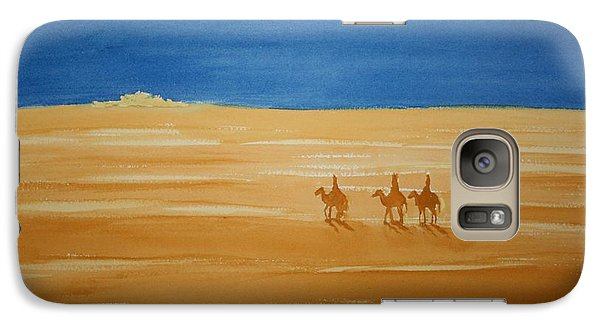 Galaxy Case featuring the painting Oh Holy Night by Stacy C Bottoms