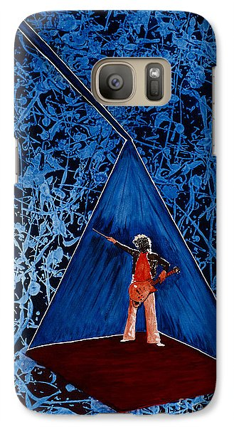 Galaxy Case featuring the painting Oh Jimmy by Stuart Engel