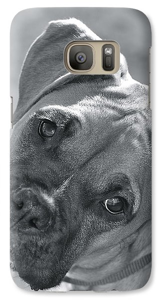 Galaxy Case featuring the photograph Oh Puppy by Barbara Dudley