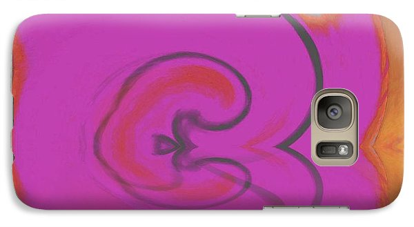 Galaxy Case featuring the digital art Oh Sweet Pomme by Phoenix De Vries