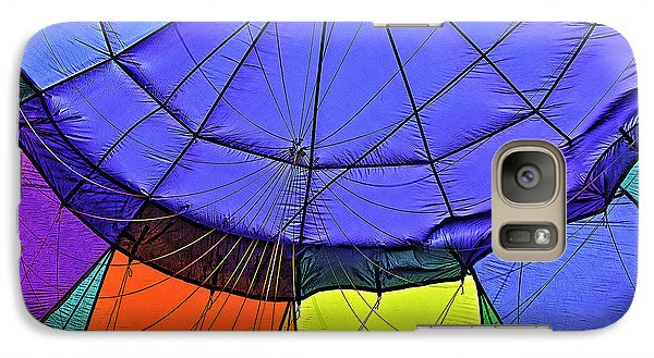 Galaxy Case featuring the photograph Oh What A Giant Web We Weave by Nancy Marie Ricketts