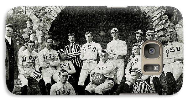Ohio State Football Circa 1890 Galaxy Case by Jon Neidert