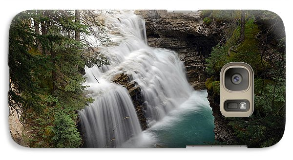 Galaxy Case featuring the photograph Johnston Canyon In Banff by Yue Wang