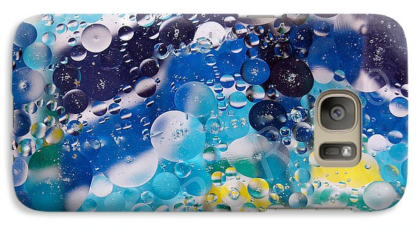 Galaxy Case featuring the photograph Oil And Water by Roseann Errigo