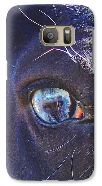 Galaxy Case featuring the photograph Ojo Sarco I Captivating by Anastasia Savage Ealy
