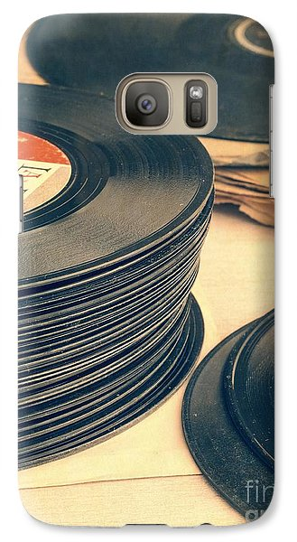 Old 45s Galaxy S7 Case