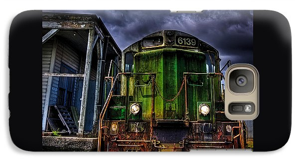 Galaxy Case featuring the photograph Old 6139 Locomotive by Thom Zehrfeld
