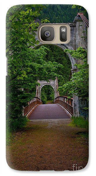Galaxy Case featuring the photograph Old Alexandra Bridge by Rod Wiens