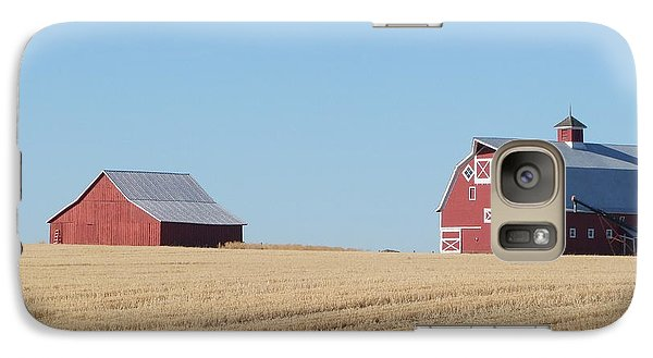 Galaxy Case featuring the photograph Old And New by Ron Roberts