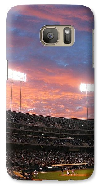 Galaxy Case featuring the photograph Old Ball Game by Photographic Arts And Design Studio