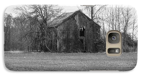Galaxy Case featuring the photograph Old Barn by Charles Kraus