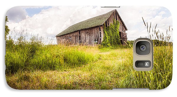 Galaxy Case featuring the photograph Old Barn In Ontario County - New York State by Gary Heller