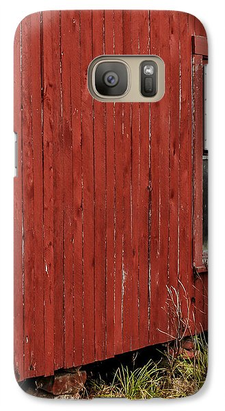 Galaxy Case featuring the photograph Old Barn Window by Debbie Karnes