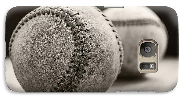 Old Baseballs Galaxy S7 Case