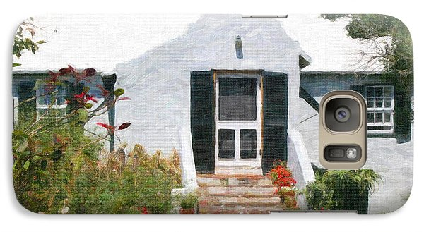 Galaxy Case featuring the photograph Old Bermuda Home by Verena Matthew