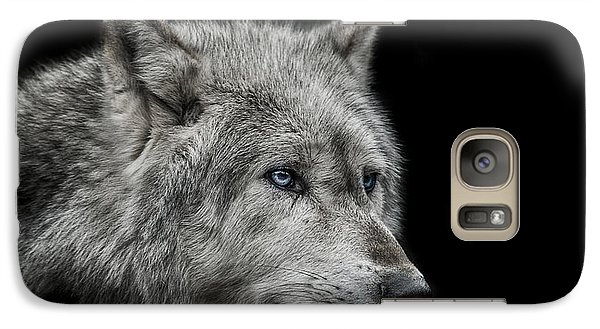 Old Blue Eyes Galaxy S7 Case by Paul Neville