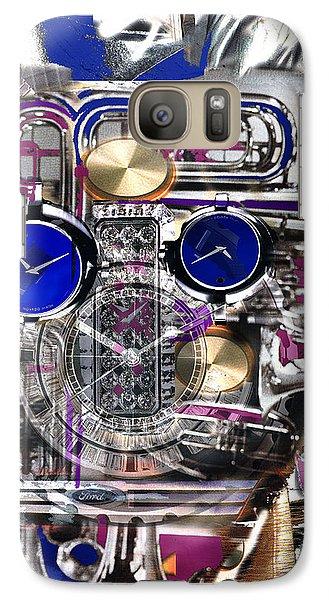 Galaxy Case featuring the digital art Old Blue Eyes by Seth Weaver