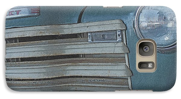 Galaxy Case featuring the photograph Old Blue by Lynn Sprowl
