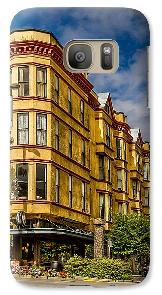 Galaxy Case featuring the photograph Old Building On So. Broadway Tacoma Wa by Rob Green