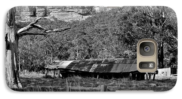 Galaxy Case featuring the photograph Old Bush Shed by Marty  Cobcroft