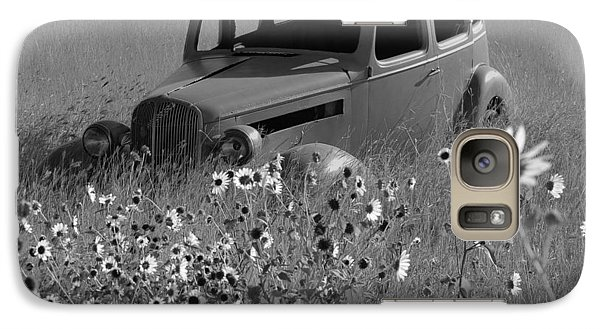Galaxy Case featuring the photograph Old Car by Leticia Latocki
