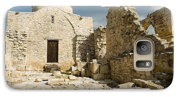 Galaxy Case featuring the photograph Old Church Anogyra  by Jeremy Voisey