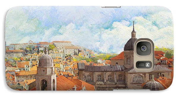 Fantasy Galaxy S7 Case - Old City Of Dubrovnik by Catf