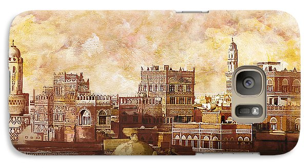 Fantasy Galaxy S7 Case - Old City Of Sanaa by Catf