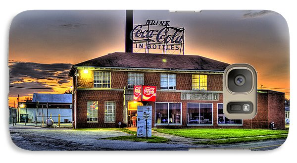 Old Coca Cola Bottling Plant Galaxy S7 Case by Jonny D