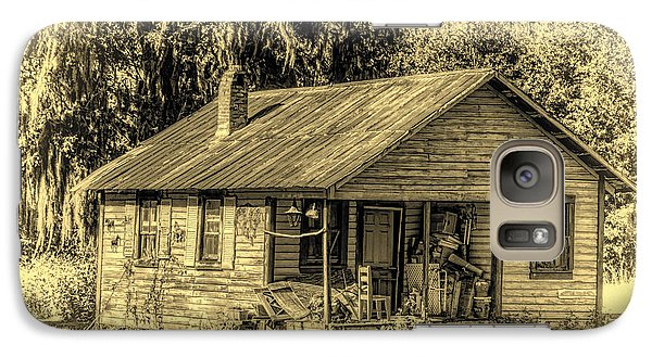 Galaxy Case featuring the photograph Old Country Cottage by Lewis Mann