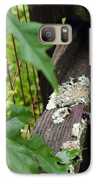 Galaxy Case featuring the photograph Old Country Fence by Deborah Fay