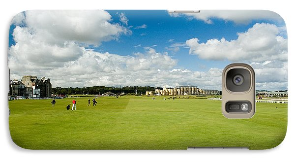 Galaxy Case featuring the photograph Old Course Fairways by Jeremy Voisey