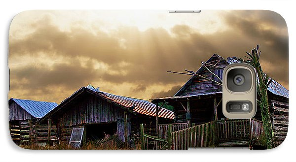 Galaxy Case featuring the photograph Old Farm House by B Wayne Mullins