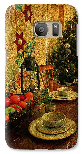 Galaxy Case featuring the photograph Old Fashion Christmas At Atalaya by Kathy Baccari