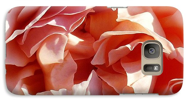 Galaxy Case featuring the photograph Old Fashioned Rose by Therese Alcorn