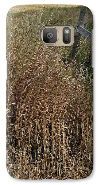 Old Fence Line Galaxy S7 Case