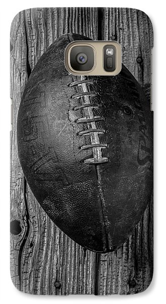 Old Football Galaxy S7 Case by Garry Gay