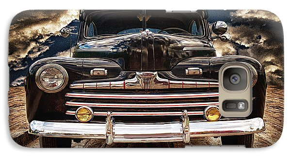 Galaxy Case featuring the photograph Old Ford 2 ... by Chuck Caramella