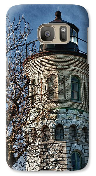 Galaxy Case featuring the photograph Old Fort Niagara Lighthouse 4484 by Guy Whiteley