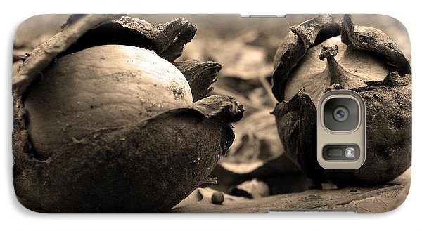 Galaxy Case featuring the photograph Old Friends by GJ Blackman